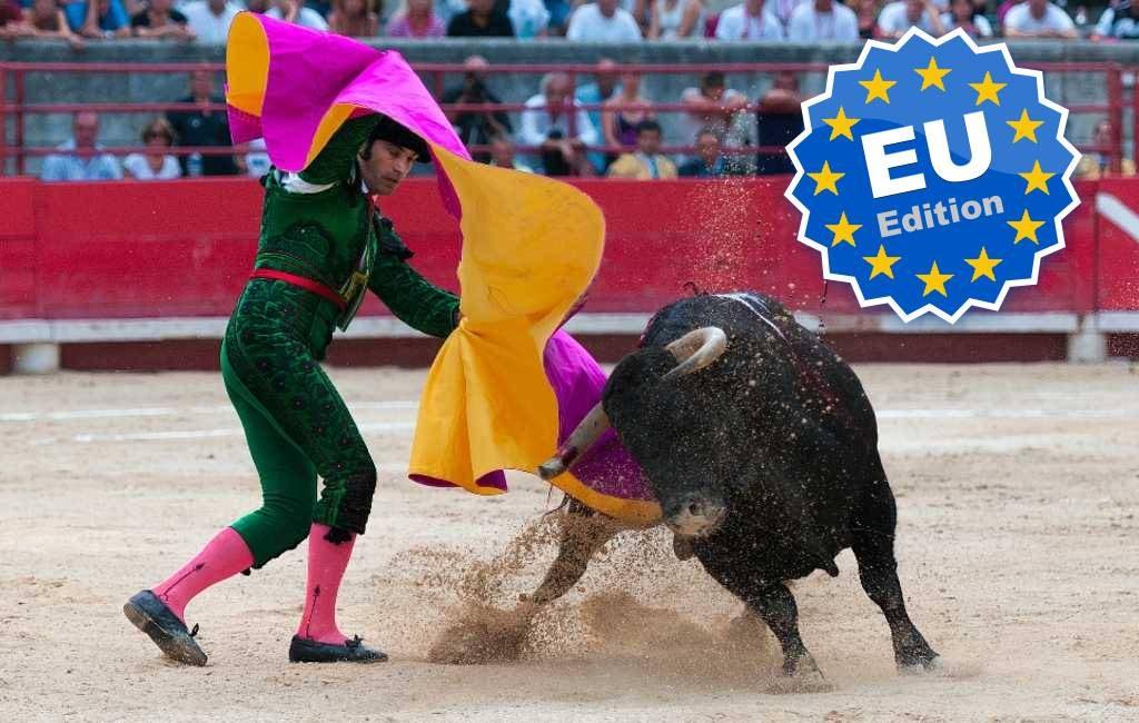 Duitse journalist eist einde steun EU en Merkel aan stierenvechten Spanje