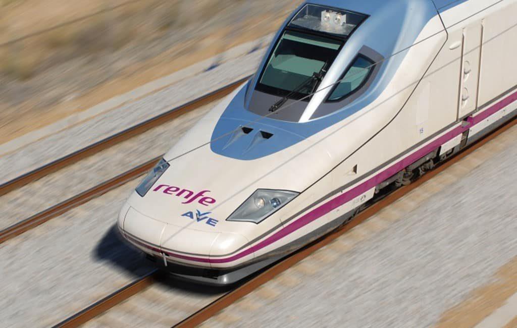 2020 wordt het jaar van de AVE hogesnelheidstrein in Spanje