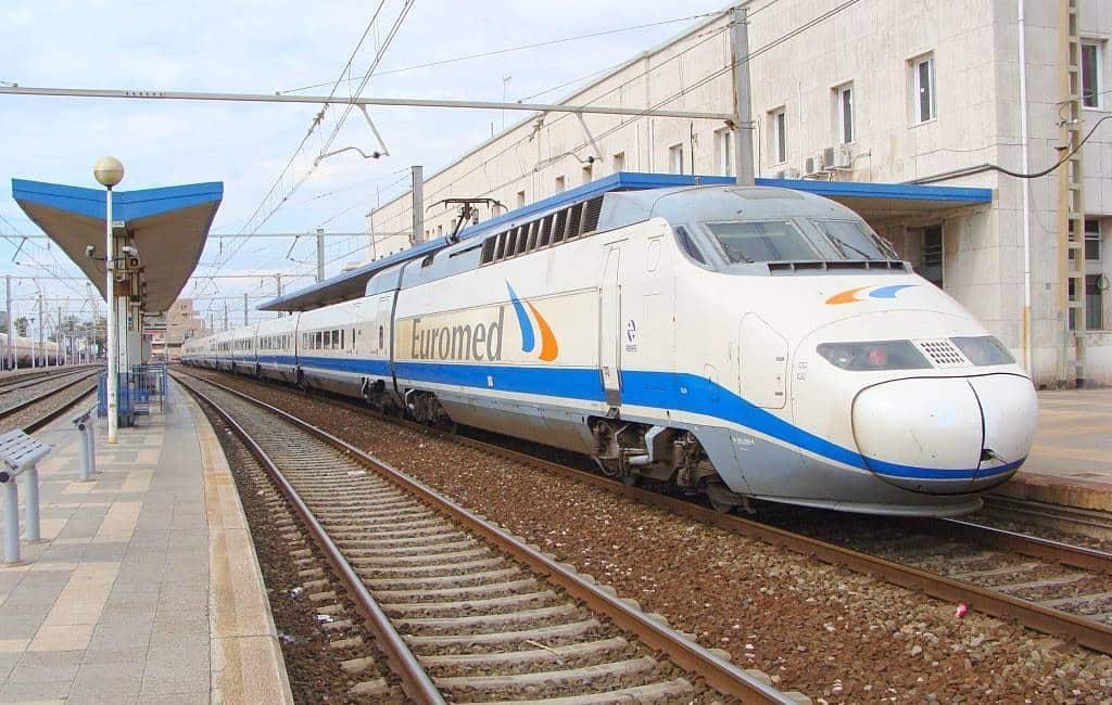 Treinreis tussen Alicante en Barcelona 40 minuten korter