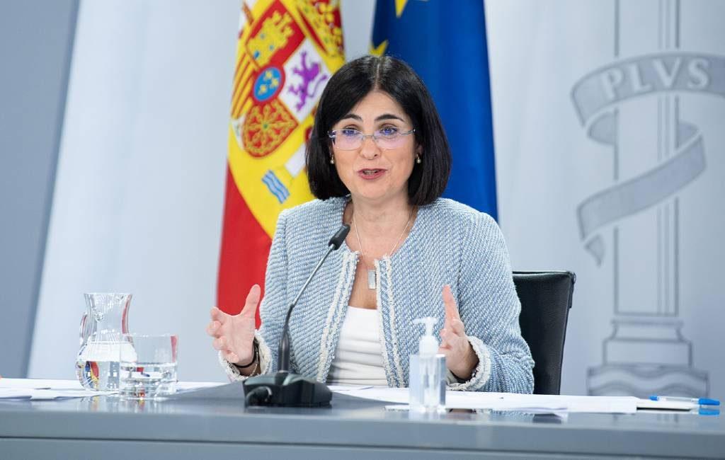 Minister van Volksgezondheid sluit verlenging noodtoestand na 9 mei in Spanje niet uit