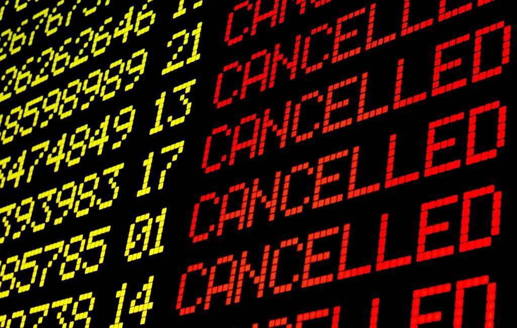 Vliegvelden en havens Balearen eilanden gesloten