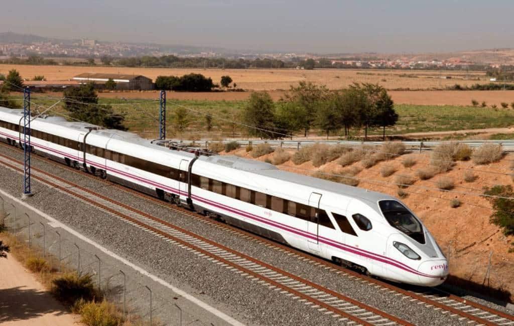 Eind juni AVE hogesnelheidstrein verbinding naar Granada