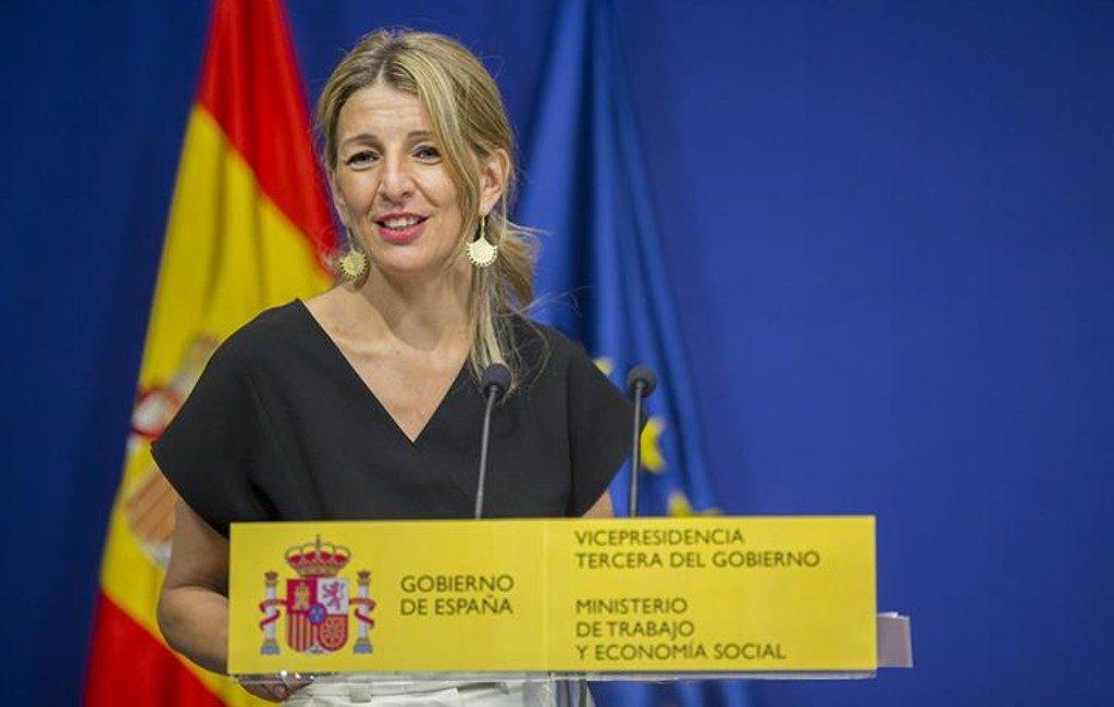 Een vast bedrag voor werkloosheidsuitkering in Spanje in de maak