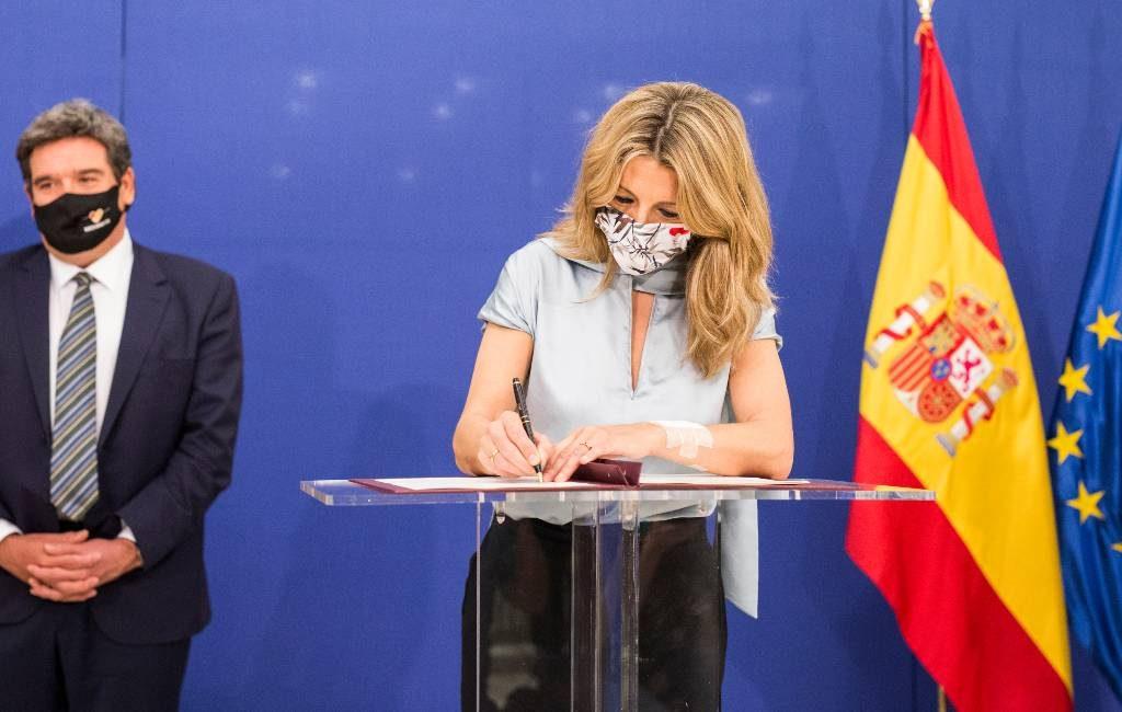 Akkoord over verlenging van de zogenaamde ERTE-regeling en zelfstandigen-WW in Spanje