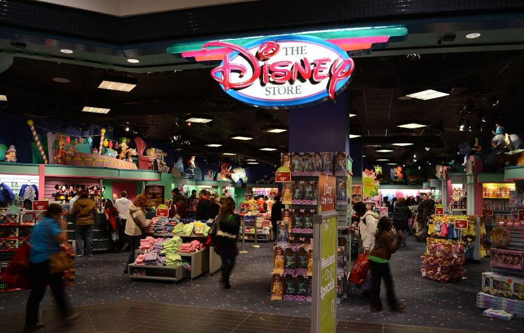 Disney Store sluit bijna alle winkels in Spanje en verlaat het land