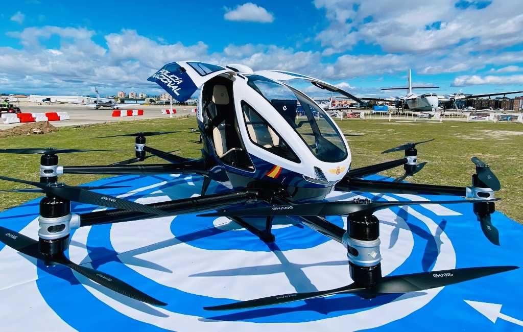 Nationale Politie Spanje ontvangt eerste bemande surveillance drone