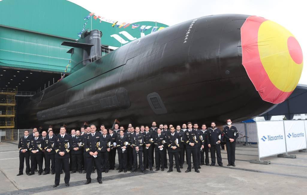 Eerste onderzeeër die volledig in Spanje is ontworpen en gebouwd gepresenteerd