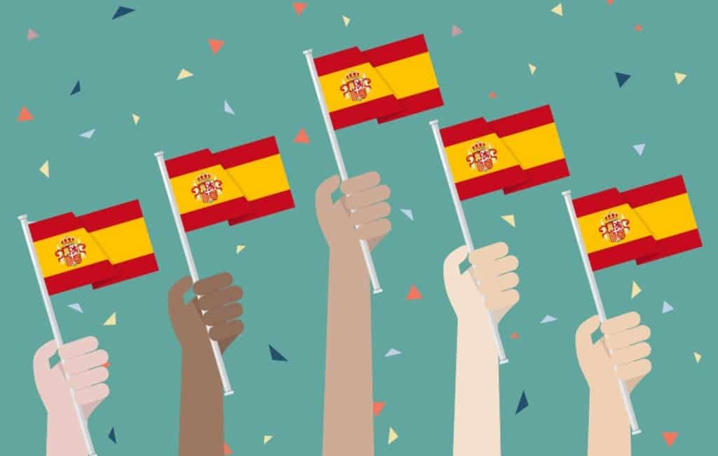 12 oktober is nationale feestdag of Día de la Hispanidad in Spanje