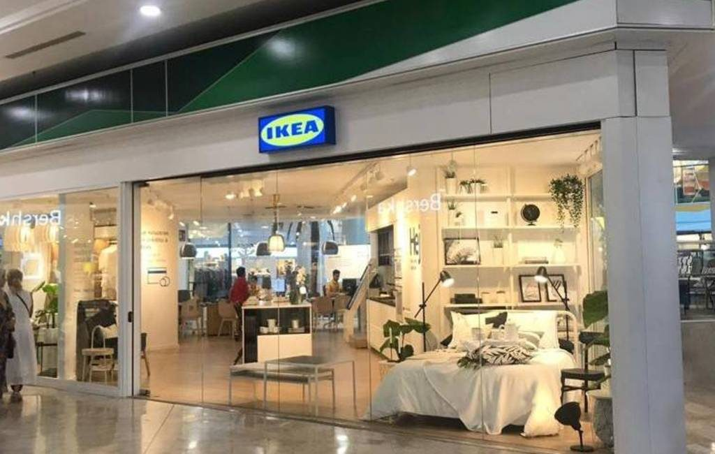 Kleine Ikea Diseña winkel geopend in winkelcentrum Alicante