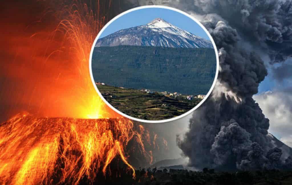 Mega vulkaanuitbarsting op komst op Tenerife