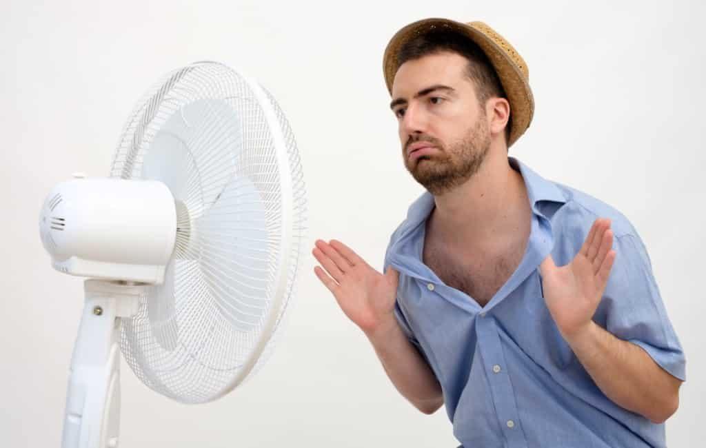 Wat is het warmste moment van de dag in Spanje?