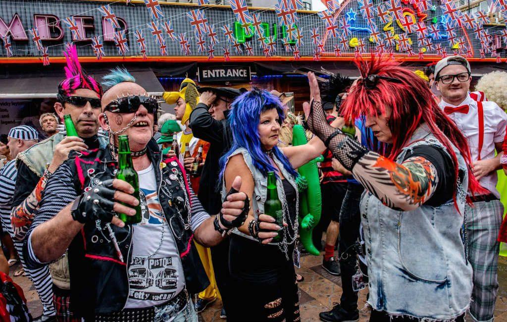 Benidorm maakt zich klaar voor feestje met 35.000 Britten