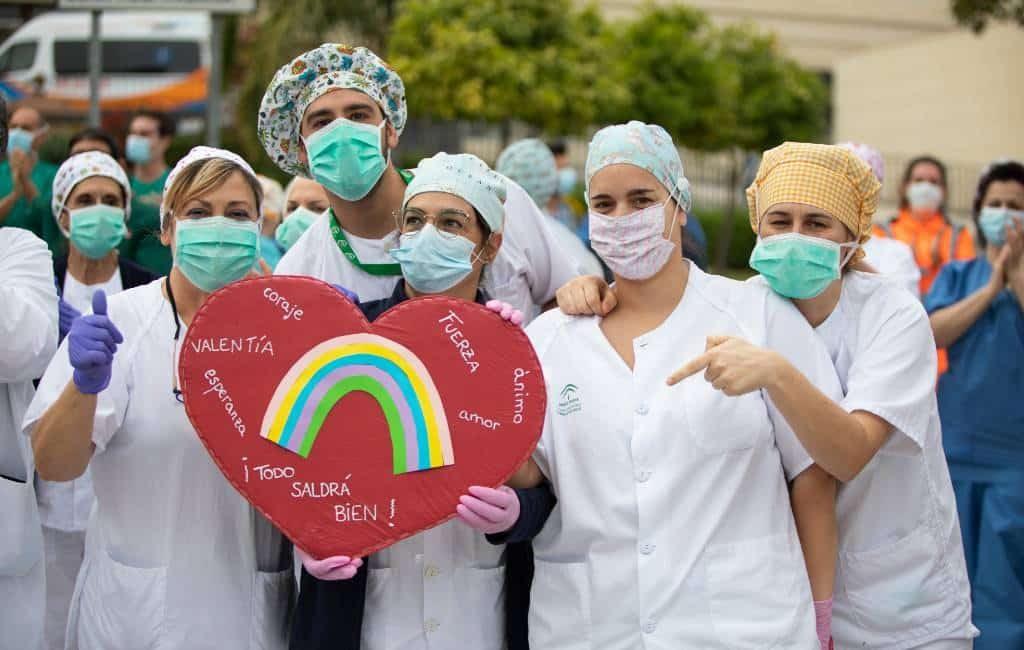 Eerbetoon Spanje voor corona-slachtoffers op 16 juli wereldwijd te zien