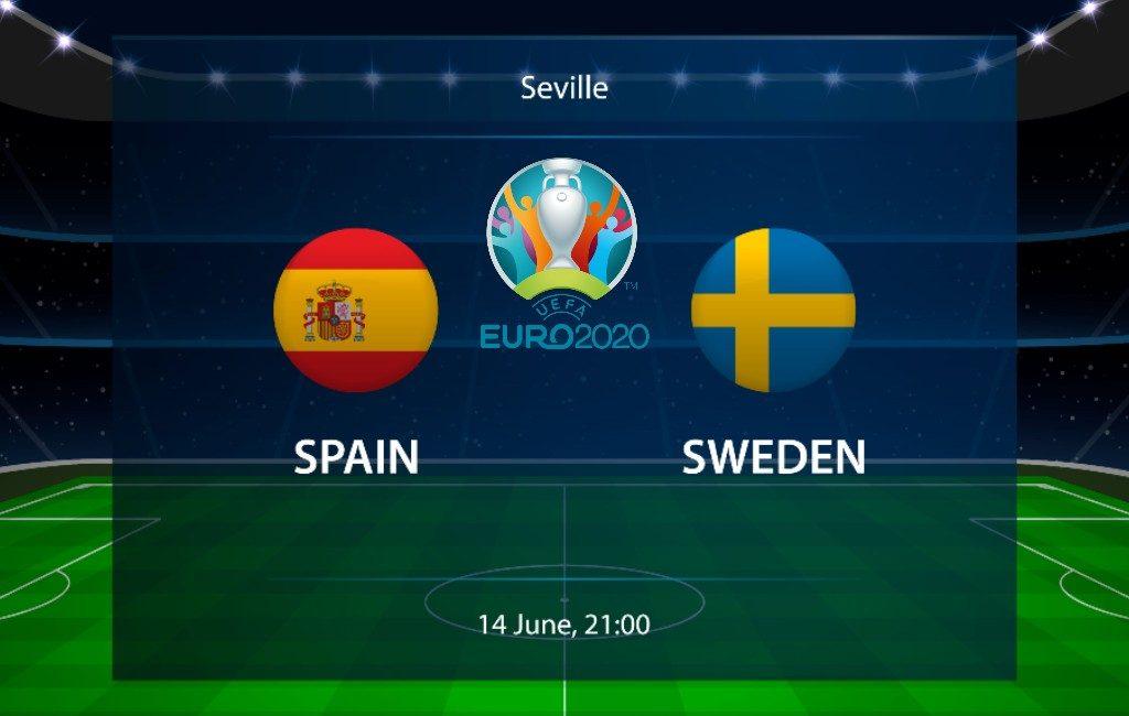 EK-2021 14 juni: Spanje speelt eerste groepsfase wedstrijd tegen Zweden