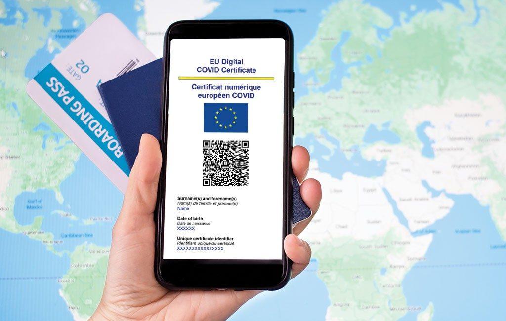 In twee weken tijd 2 miljoen digitale EU-Covid certificaten aangemaakt in Spanje