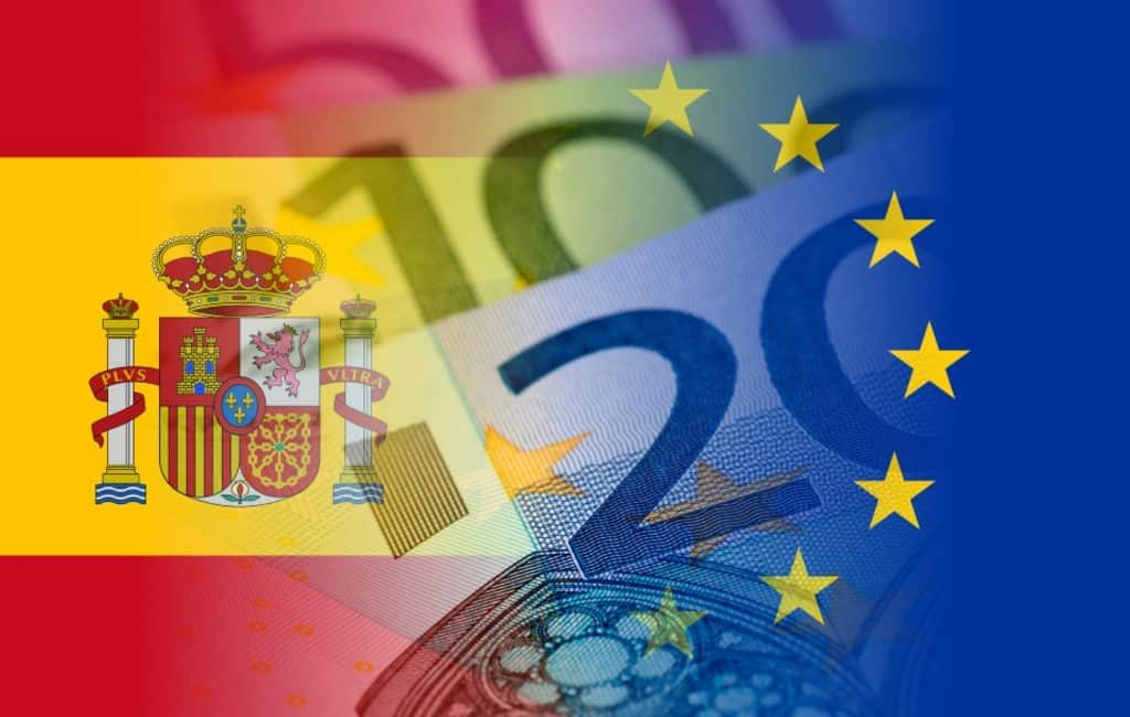 Bruto salaris Spanje 22% lager dan Europees gemiddelde