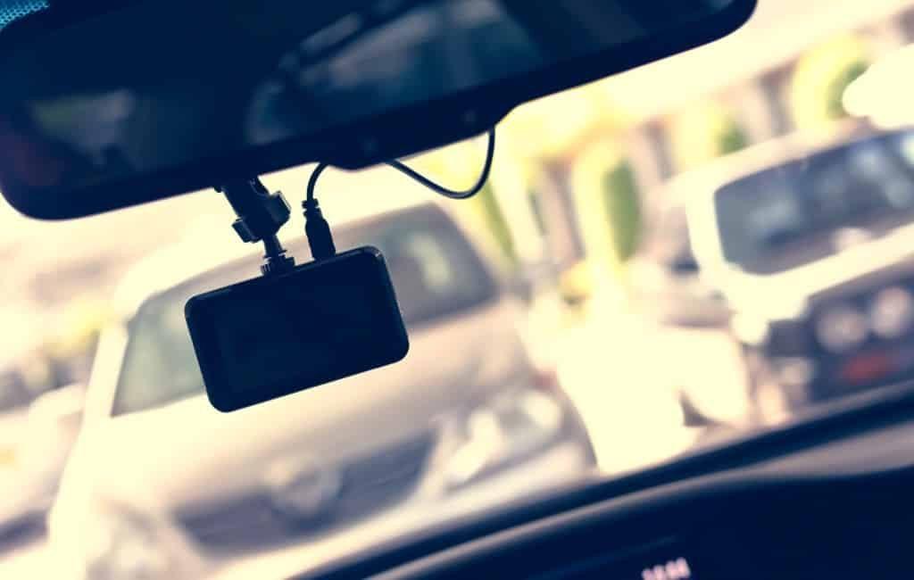Het gebruik van een dashcam of camera in de auto in Spanje