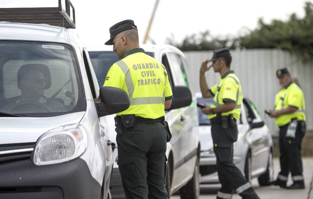 Meer dan 20.000 alcohol- en drugscontroles per dag op de Spaanse wegen