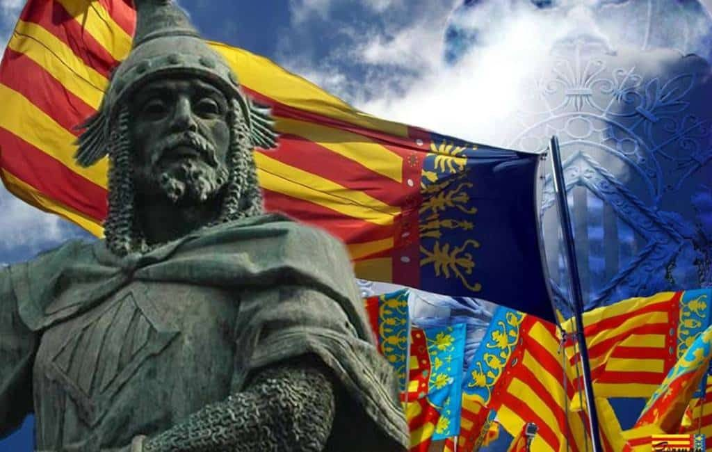 Regionale feestdag Valencia regio op 9 oktober