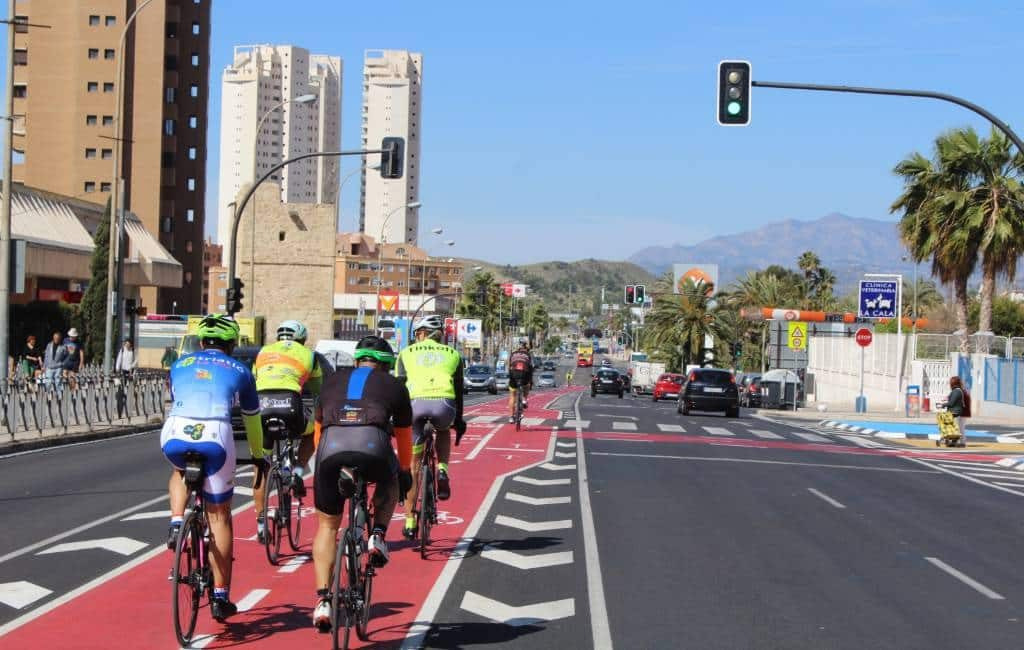 Benidorm streeft ernaar om de tweede stad in de regio te worden met kilometers aan fietspaden
