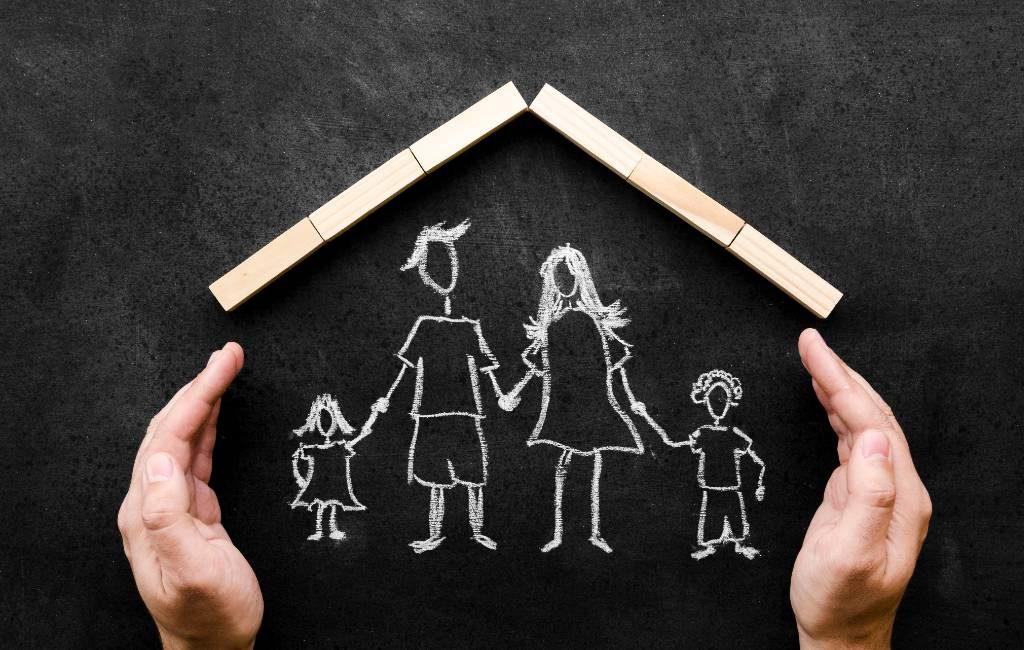 Er zijn meer dan 18,7 miljoen huishoudens in Spanje (2021)
