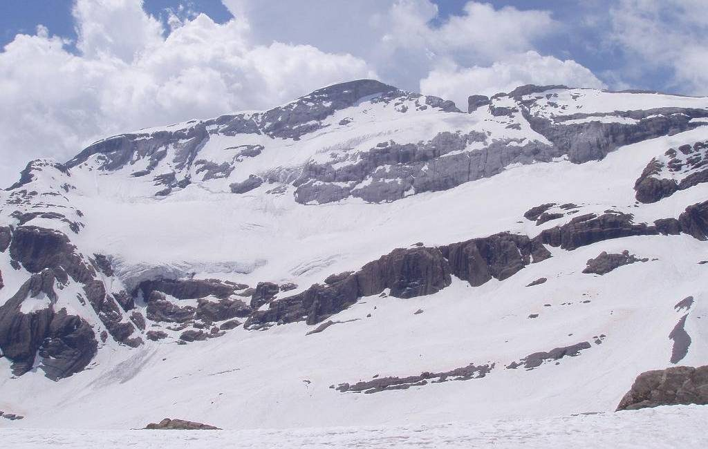 Gletsjers in de Spaanse Pyreneeën smelten alarmerend snel