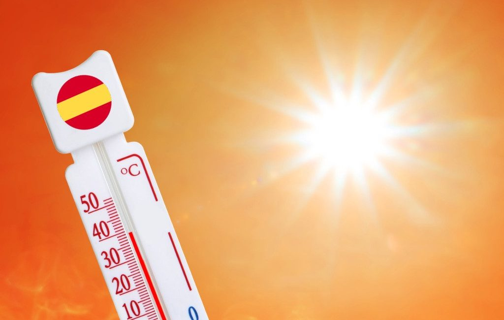 Hittegolf Spanje: hoogste temperatuur vrijdag 13 aug was 45,6 graden