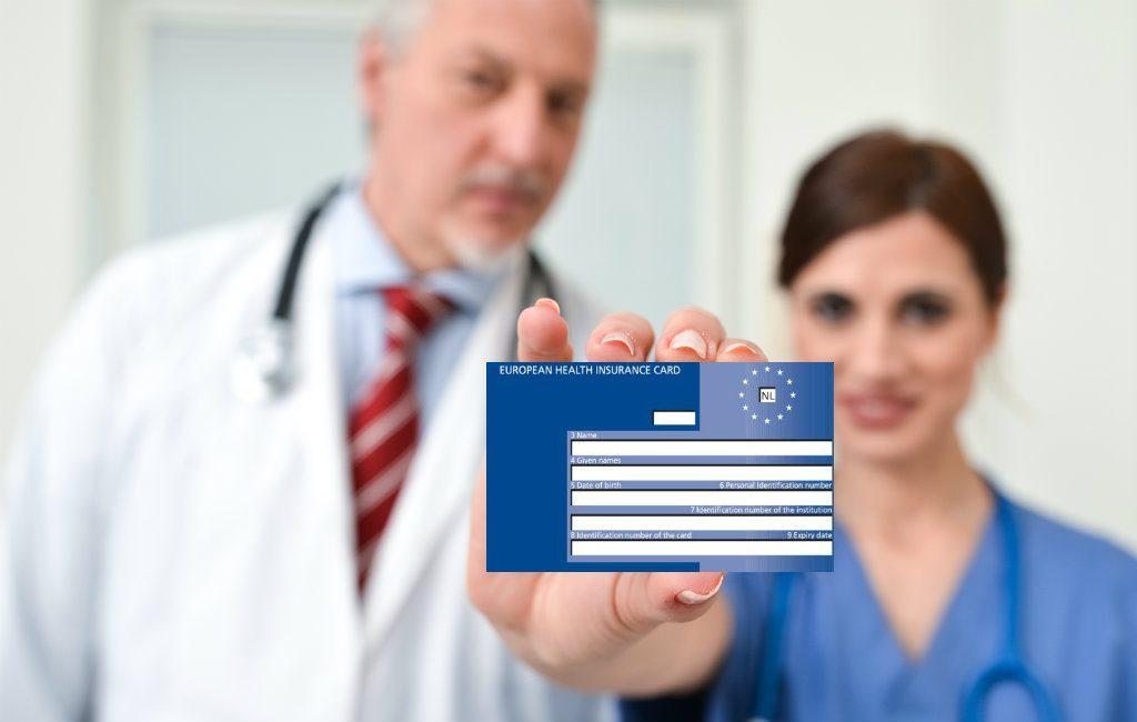 Europese gezondheidskaart tijdens de corona-pandemie in Spanje