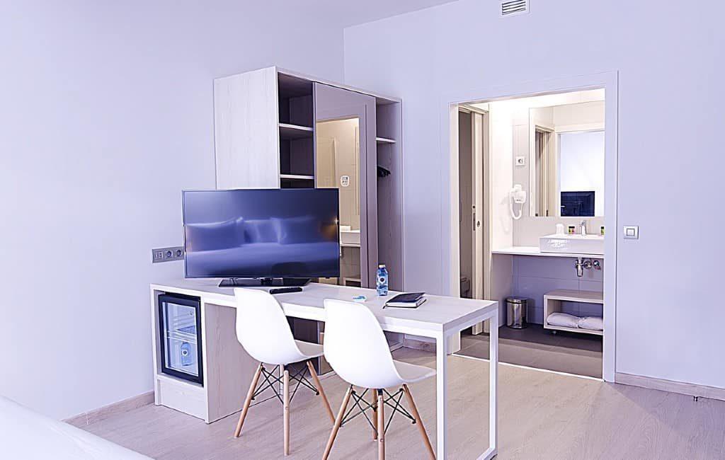 Hotelkamers als kantoor voor zelfstandigen en thuiswerkers in Spanje