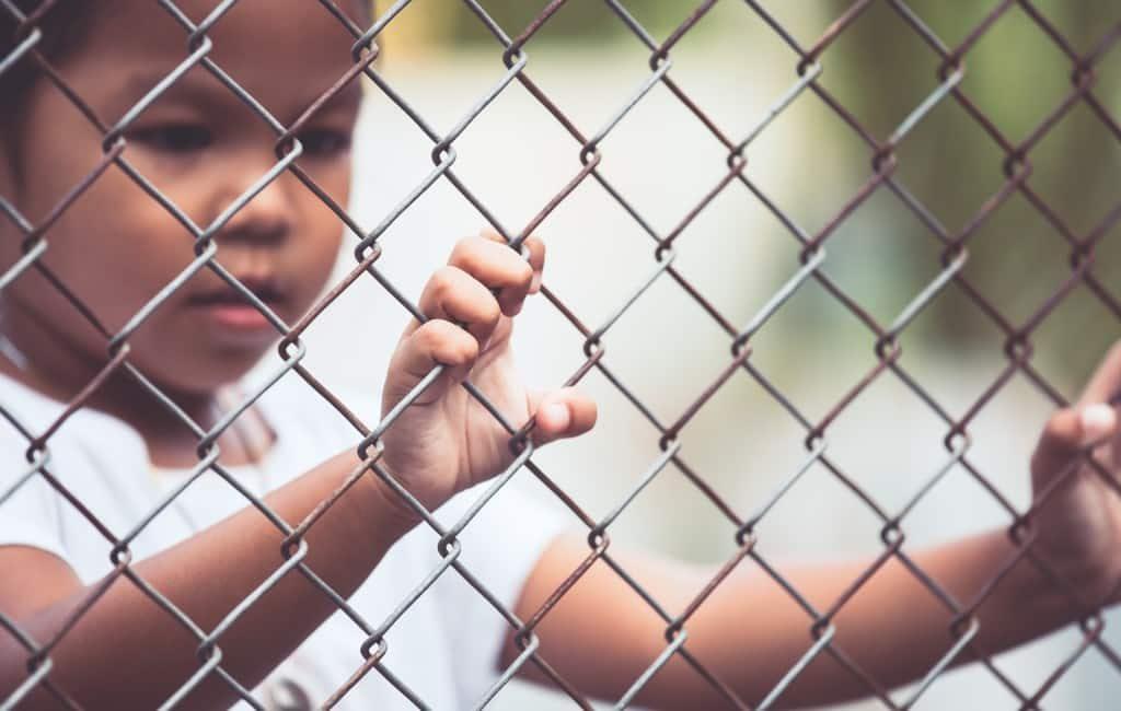 Ook op Ibiza is gedemonstreerd tegen kinderhandel en uitbuiting