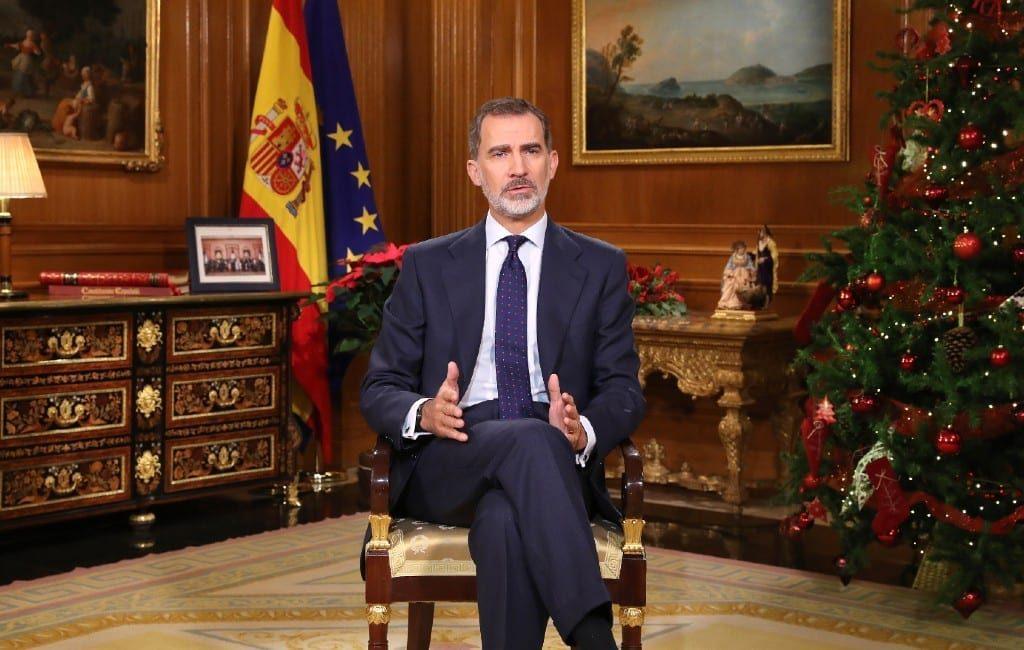 Kersttoespraak koning met 54% steun voor de monarchie in Spanje