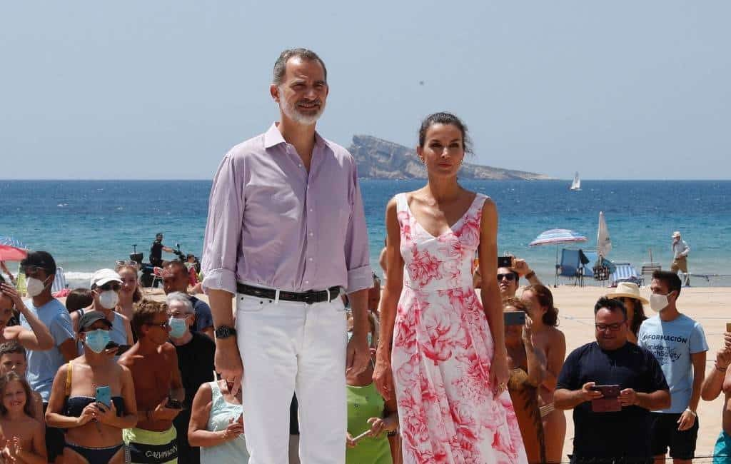 Spaans koningspaar op bezoek in Benidorm (foto's)