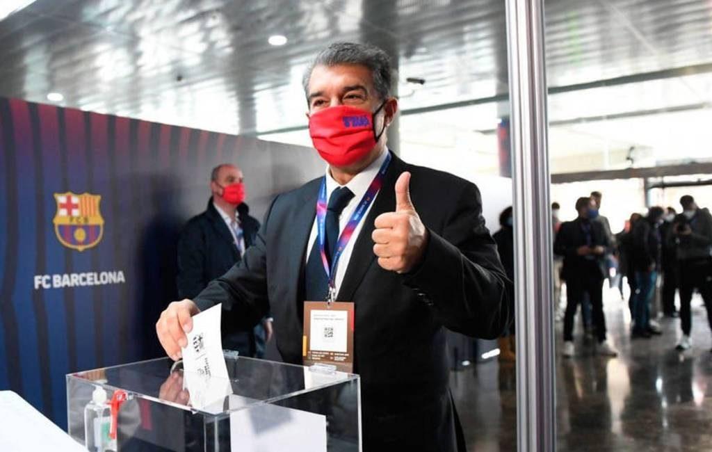 Joan Laporta opnieuw gekozen tot nieuwe voorzitter van FC Barcelona