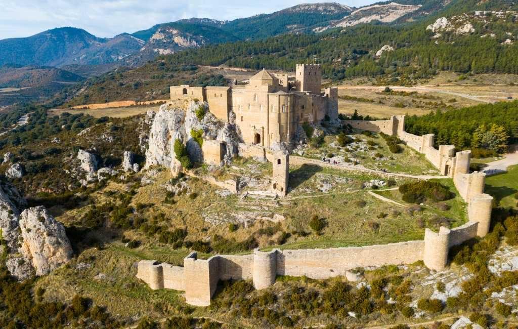Kasteel van Loarre in Huesca gekozen tot mooiste van Spanje