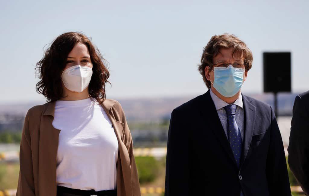 Isabel Díaz Ayuso & José Luis Martínez-Almeida / Europa Press