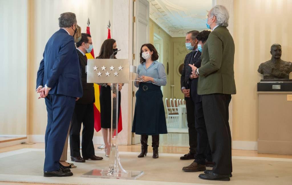 Regionale PP-premier Madrid regio stuurt C's-vicepremier naar huis en kondigt nieuwe regionale verkiezingen aan