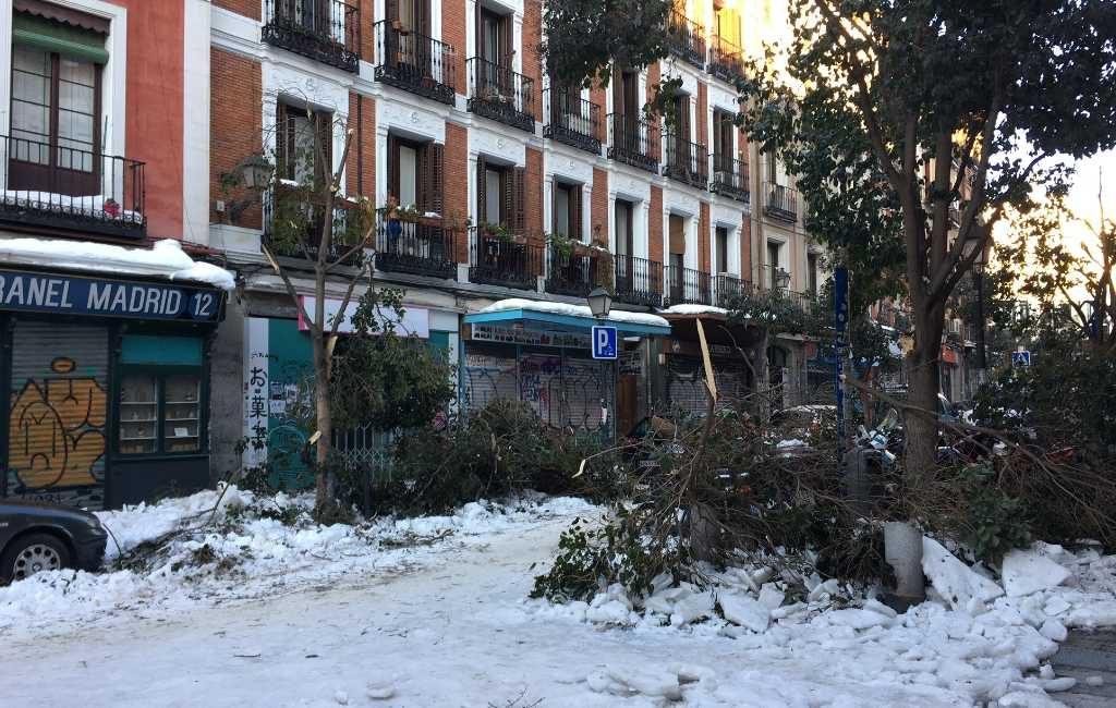 Spanje verklaart 8 regio's tot catastrofale zones na sneeuwstorm Filomena
