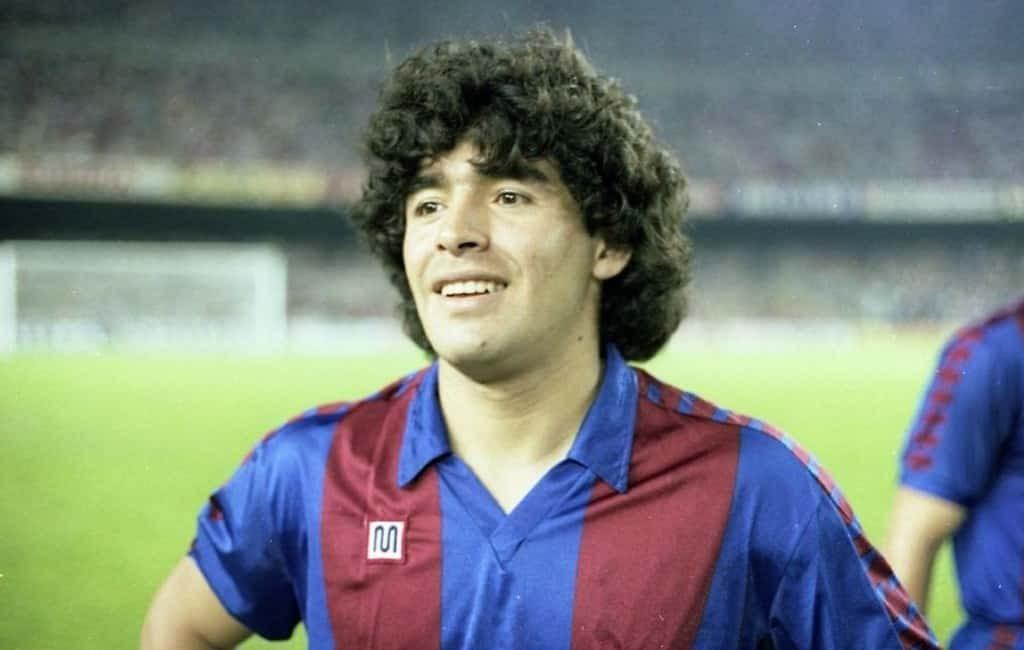 De overleden Diego Maradona en zijn jaren in Spanje