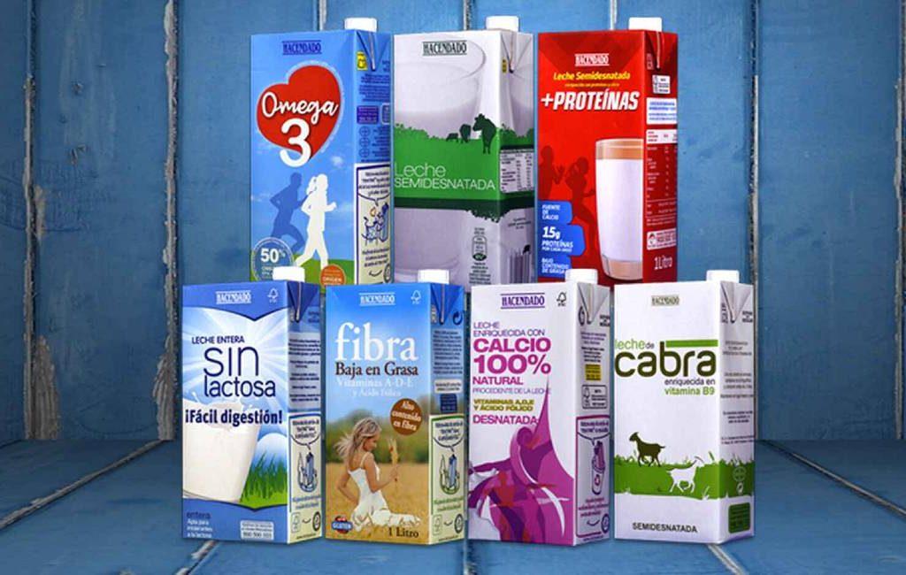 Mercadona verhoogt prijzen van melk om boven de 0,60 euro te komen