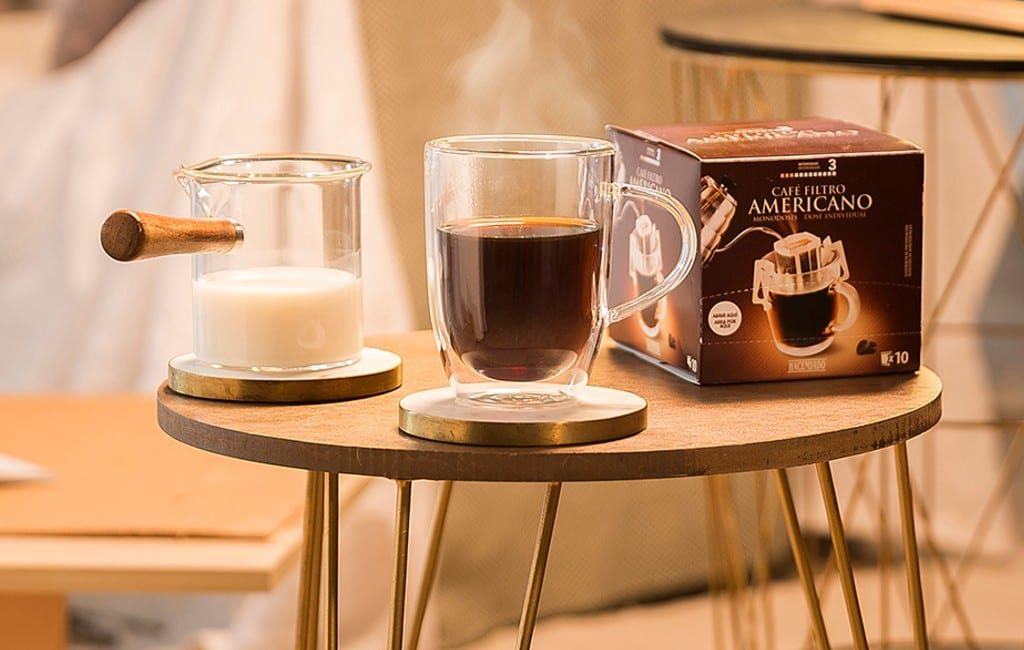 Mercadona en de makkelijke manier van een 'americano' koffie zetten