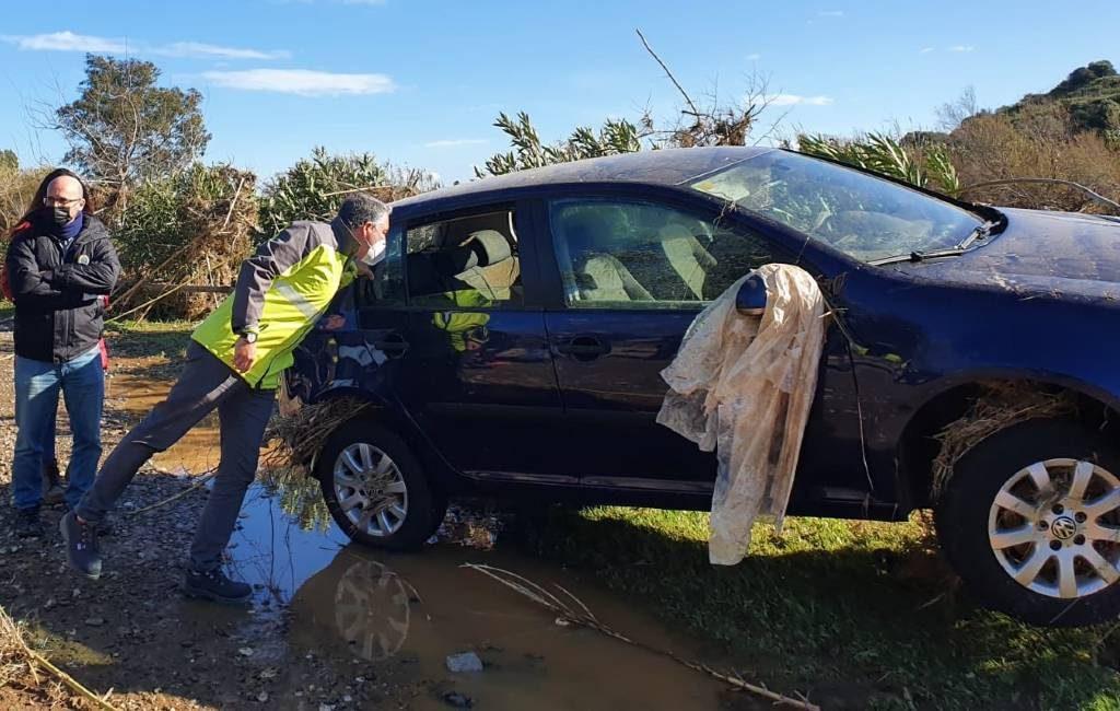 Twee doden door slechte weer en overstroomde rivier in Mijas
