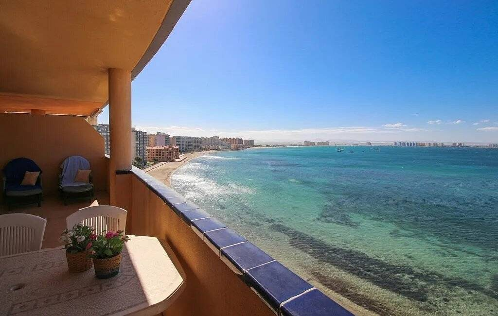 Voor 2 euro maak ook jij kans op dit appartement in La Manga del Mar Menor in Murcia