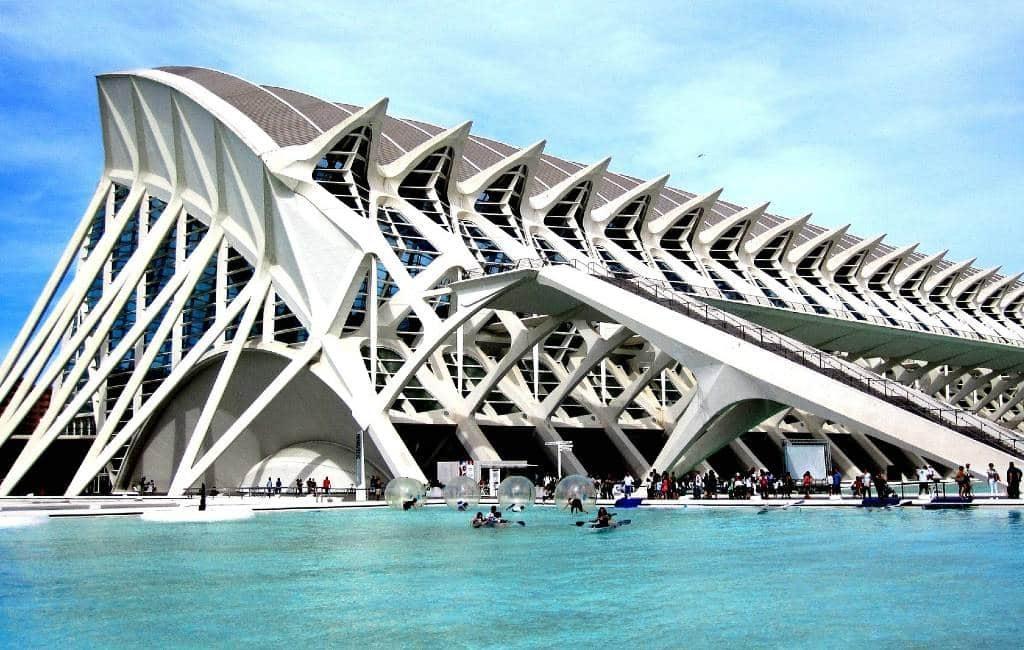 Het Museo de las Ciencias Príncipe Felipe in Valencia bestaat 20 jaar