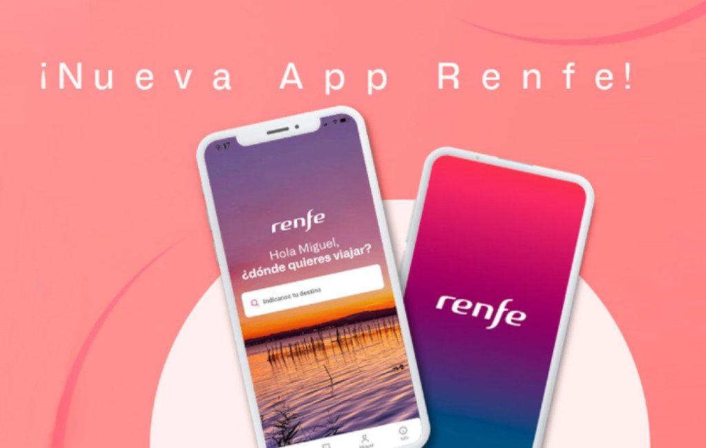 Spaanse spoorwegmaatschappij Renfe lanceert nieuwe smartphone app