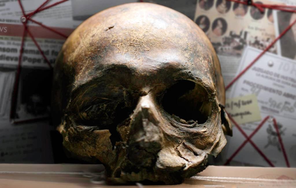 21 jaar geleden werd in Aragón de schedel van Paus Papa Luna gestolen