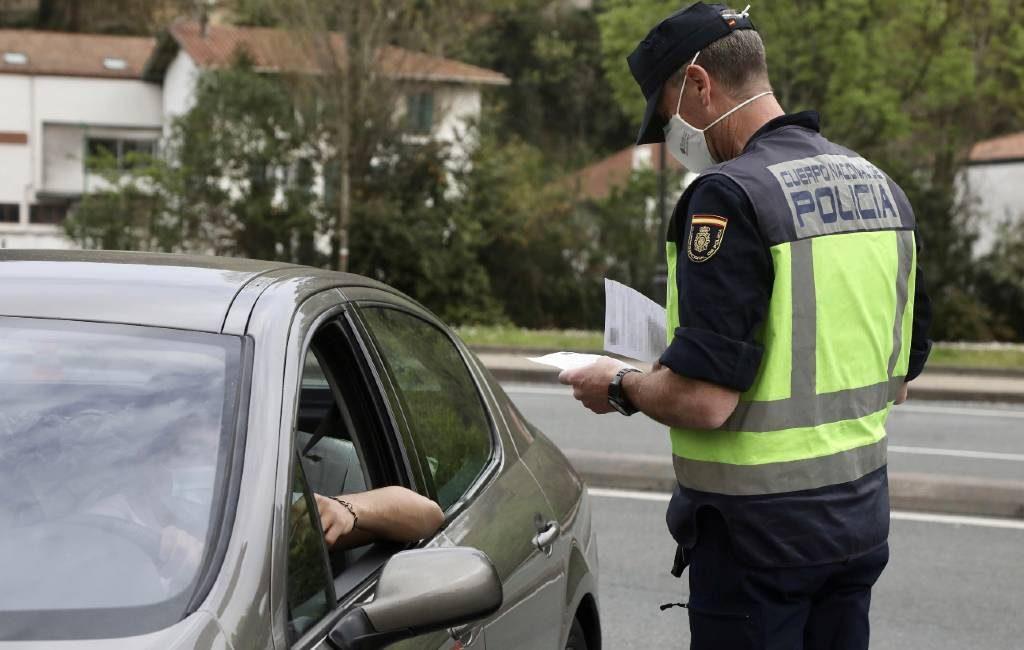 Spaanse politie begonnen met PCR-test grenscontroles in Catalonië, Aragón en Baskenland