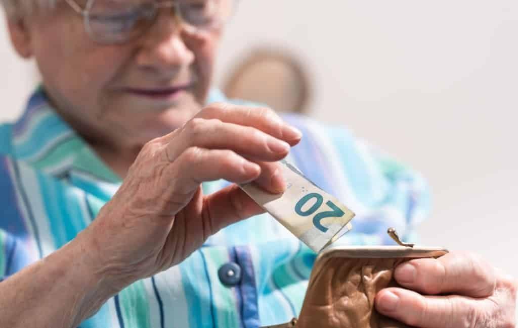 Gemiddelde ouderdomspensioen Spanje in mei is 1.187 euro