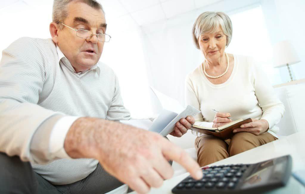 Gepensioneerden Spanje krijgen gemiddeld 1,74 voor elke betaalde euro terug