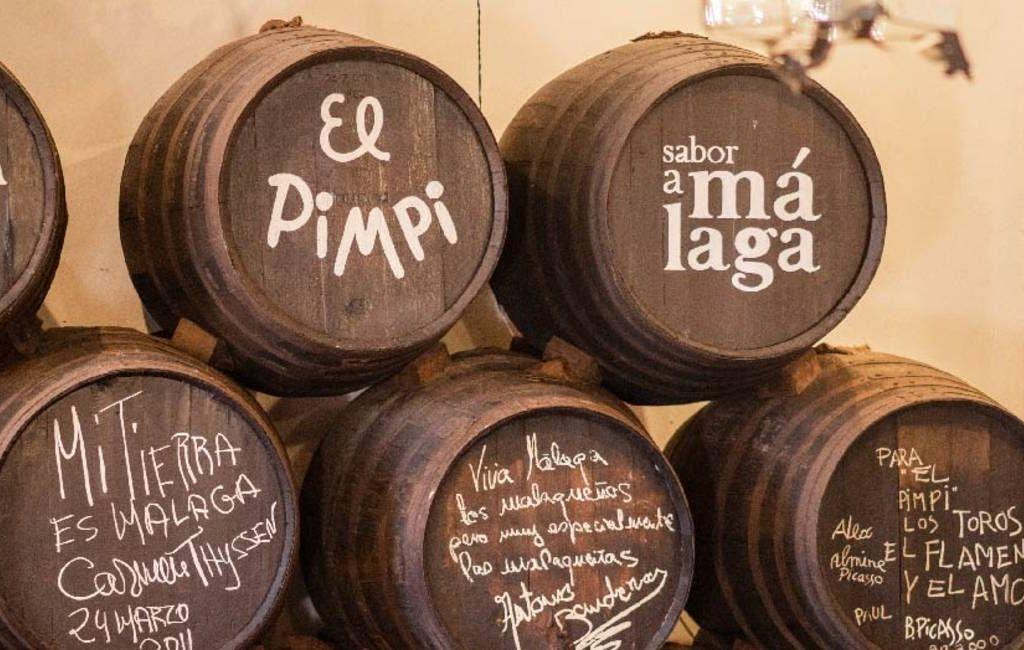 Málaga's beroemdste Bodega-wijnkelder 'El Pimpi' bestaat 50 jaar