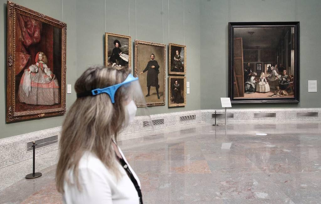 De musea El Prado, Reina Sofia en Thyssen weer open in Madrid